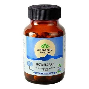Organic India Bowelcare 60 Capsules Bottle