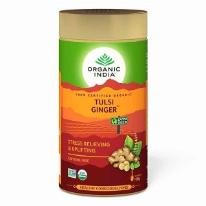Organic India Tulsi Ginger 100 Gm Tin