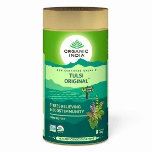 Organic India Tulsi Original 100 Gm Tin