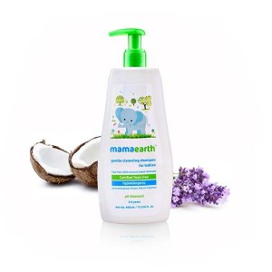 Mamaearth Gentle Cleansing Shampoo for babies (0-5 Yrs)