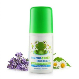 Mamaearth After Bite Roll On For Rashes and Mosquito Bites, Lavander and Witchhazel, 40ml