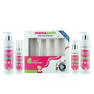 Mamaearth Anti Hair Loss Kit (Oil, Shampoo, Conditioner & Tonic)