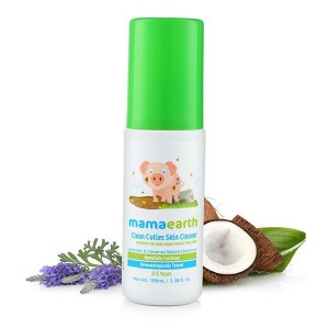 Mamaearth Clean Cuties Babies Skin Cleanser, 100ml