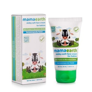 Mamaearth Milky Soft Baby Face Cream with Muru Muru Butter 50 Gm