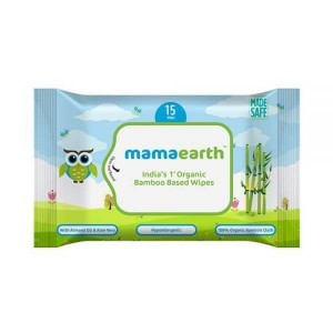 Mamaearth Organic Bamboo Based Wipes