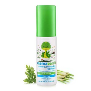 Mamaearth Natural Mosquito Repellent for babies (100 ml, 3months+)