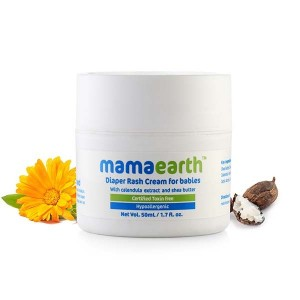 Mamaearth Diaper Rash Cream for babies (0-5 Yrs), 50 ml