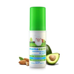 Mamaearth Nourishing Baby Hair Oil, Almond and Avocado, 100ml