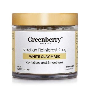 Greenberry Organics Brazilian Rainforest White Clay Mask