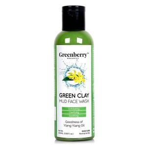 Greenberry Organics Green Clay Mud Face Wash