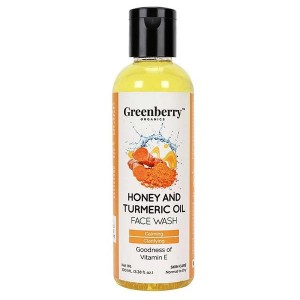 Greenberry Organics Honey & Turmeric Oil Face Wash