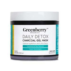 Greenberry Organics Daily Detox Charcoal Gel Mask