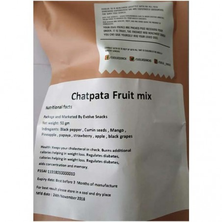 Evolve Chatpata Fruit Mix