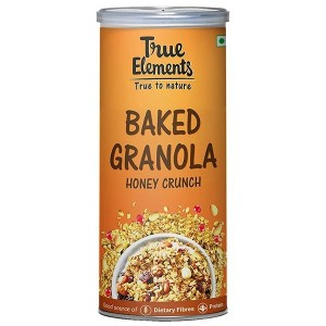 True Elements Baked Granola Honey Crunch 350gm