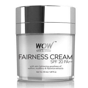 Wow Fairness Cream Spf 20Pa ++ - 50Ml