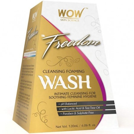 Wow F&G Freedom Cleansing Foam Wash - 120 Ml