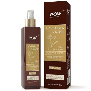 Wow Lavender & Rose Skin Mist Toner - 200 Ml