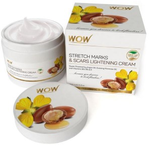 Wow Stretch Marks & Scar Lightening Cream - 200 Ml