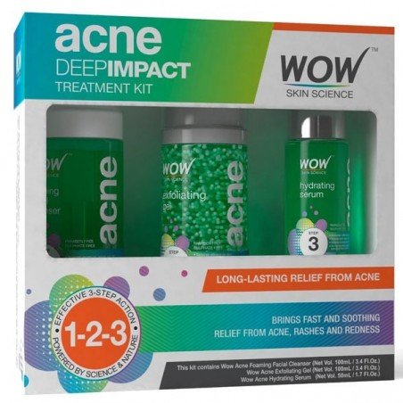 Wow Deep Impact Acne Treatment Kit