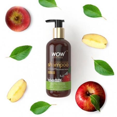 Wow Apple Cider Vinegar Shampoo - 300Ml
