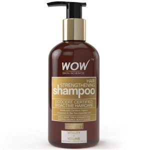 Wow Hair Strengthening Shampoo - 300Ml
