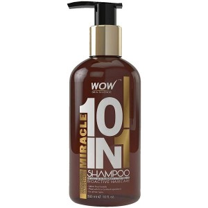 Wow Miracle 10 In 1 Shampoo - 300Ml