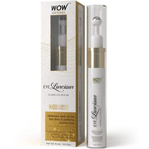 Wow Skin Science Eye Luscious Under Eye Roller, 15Ml