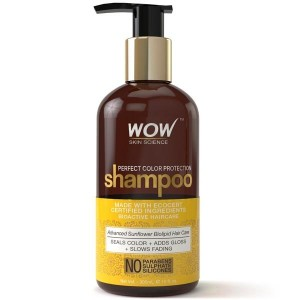 Wow Perfect Color Protection Shampoo - No Parabens, Sulphates & Silicones