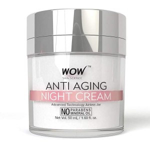 Wow Anti Aging Night Cream - 50gm