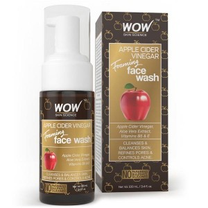 Wow Apple cider vinegar foaming face wash 100Ml