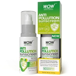 Wow Anti Pollution sunscreen SPF 40 100Ml