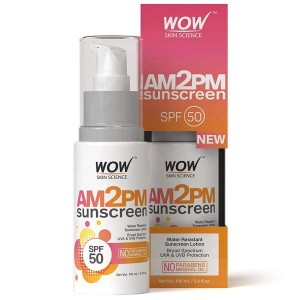 Wow Am2PM Sunscreen SPF50