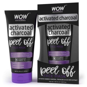 Wow Activated charcoal peel off face mask 60Ml