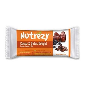 Nutrezy Cocoa & Dates Delight Bar (Pack of 6)