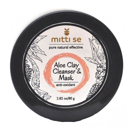Mitti Se Aloe Clay Cleanser & Mask