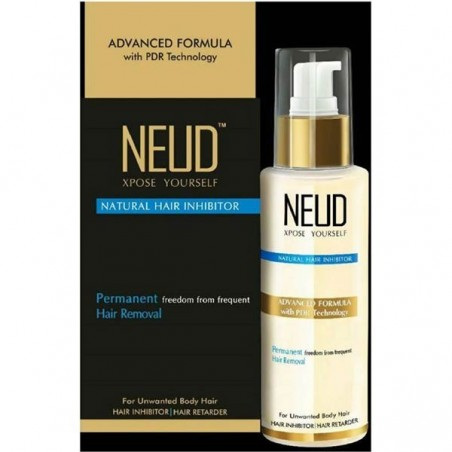 Neud Natural Hair Inhibitor Permanent Hair Removal Cream