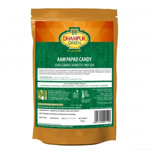 Dhampur Green Aam Papad Candy 150gm
