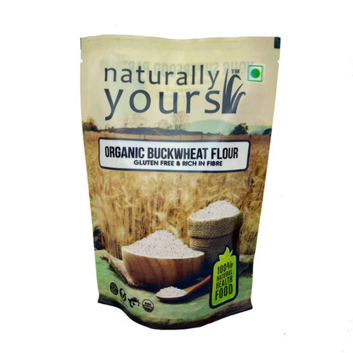 Naturally Yours Buckwheat Flour 400Gm