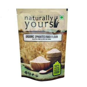 Naturally Yours Sprouted Ragi Flour 250Gm