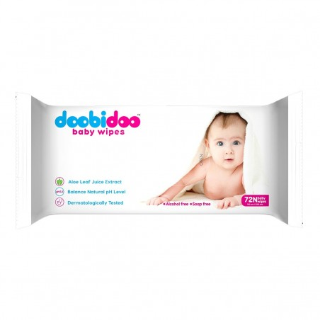 Doobidoo Baby Wipes 72 N