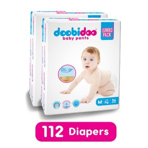 Doobidoo Baby Pants Medium 56 pants pack of 2
