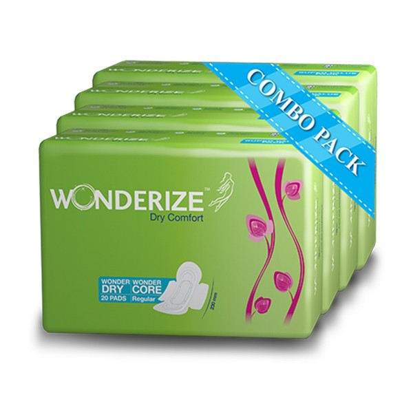 Wonderize Dry Comfort 230mm Pack of 20