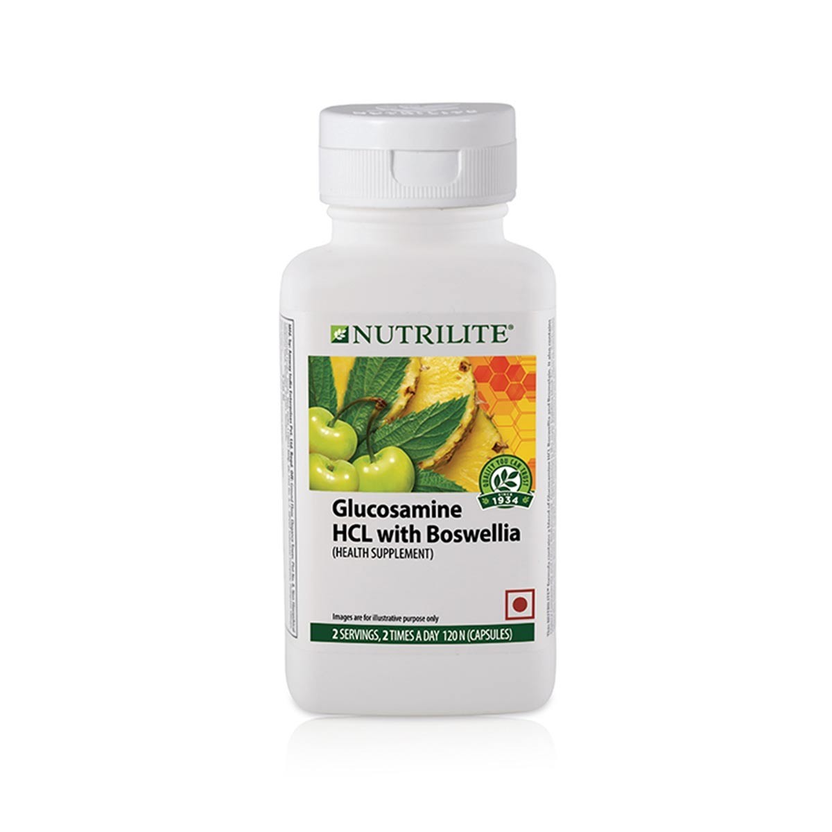Amway Nutrilite Glucosamine HCL with Boswellia (120 capsules)