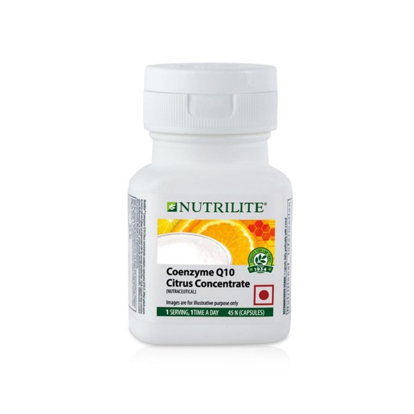 Amway Nutrilite Coenzyme Q10 Citrus Concentrate (45 capsules)