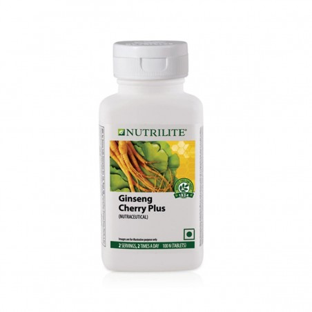 Amway Nutrilite Ginseng Cherry Plus (100 tablets)