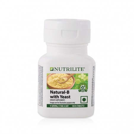 Amway Nutrilite Natural B with Yeast (100 tablets)