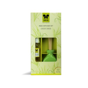 Iris Reed Diffuser Set 45 ml Lemon Grass