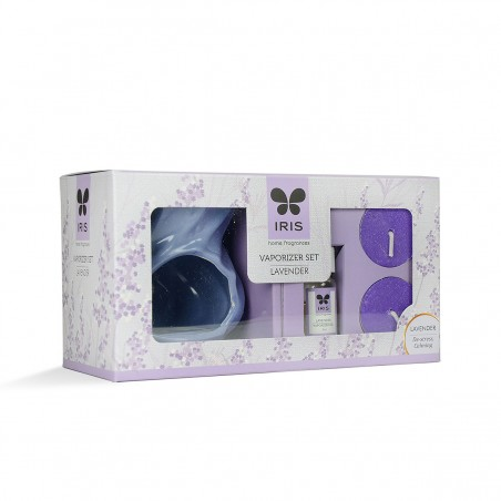 Iris Ceramic Fragrance Vaporizer-Purple
