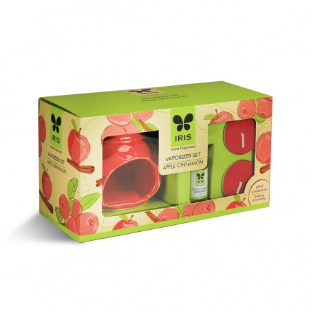 Iris Ceramic Fragrance Vaporizer-Red