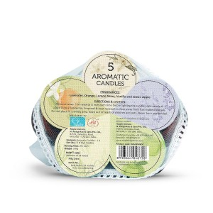 Iris Aromatic Dia Candles (Pack of 5)